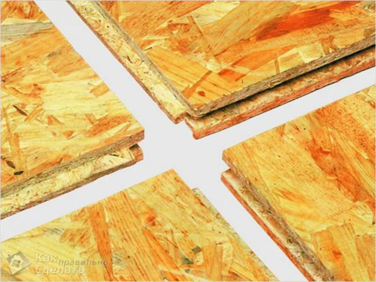 Paneles hechos de virutas de madera. La construcción de la casa de ...