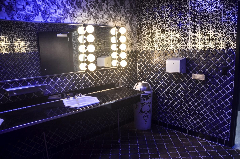 Tegel voor badkamers fotocombinatie van kleuren
